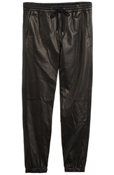 Vince Leather Track Pants