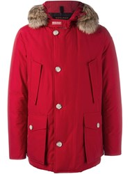 Woolrich 'Parka Df Arctic Anorak' Coat Red