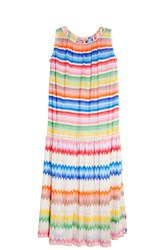 Missoni Striped Beach Dress Beige