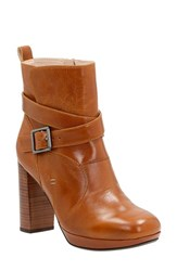 Clarksr Women's Clarks 'Gabriel Mix' Moto Boot Tan Leather