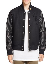 Twenty Tees 13 X Leather Sleeve Varsity Jacket 100 Bloomingdale's Exclusive Black