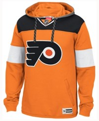 Reebok Men's Philadelphia Flyers Jersey Pullover Hoodie Orange