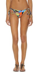 Milly Graphic Print Biarritz Bikini Bottoms Multi