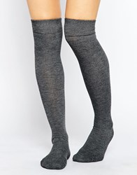 Gipsy Over The Knee Socks Grey