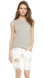 6397 Muscle Tank Top Light Grey Heather