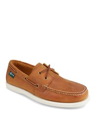 Eastland Kittery 1955 Leather Boat Shoes Tan