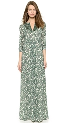 Tory Burch Talan Caftan Gown Vine Issy Small