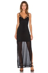Evil Twin After Day Maxi Dress Black