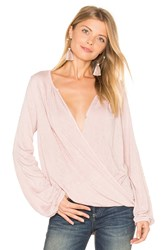 Velvet By Graham And Spencer Janet Top Pink