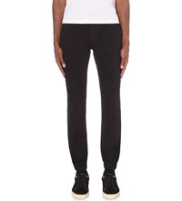 7 For All Mankind The Jogger Slim Fit Skinny Jeans Deep Black