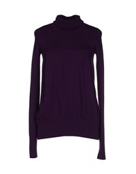 Kaos Turtlenecks Purple