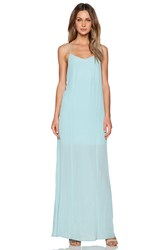 Bella Luxx Low Back Maxi Dress Green