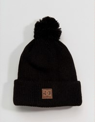 Dc Guetto Bobble Hat In Black Black