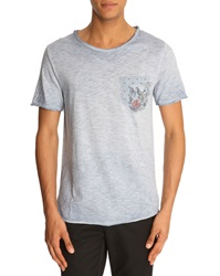 Menlook Label Kent Sky Blue T Shirt