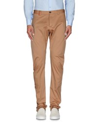 Armani Collezioni Trousers Casual Trousers Men Camel