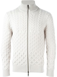 Etro Zipped Cardigan Nude And Neutrals