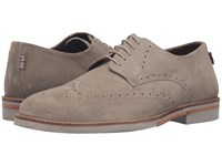 Ben Sherman Julian Wingtip Mouton Men's Lace Up Casual Shoes Beige