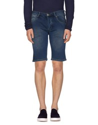 Armani Jeans Denim Denim Bermudas Men Blue