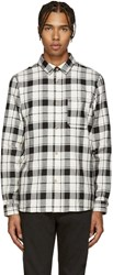 A.P.C. Black And White Grizzli Shirt
