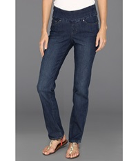 Jag Jeans Peri Pull On Straight In Anchor Blue Anchor Blue Women's Jeans