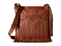 Sts Ranchwear The Boho Crossbody Saddle Brown Cross Body Handbags