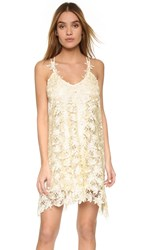 One By Jessica Lace Cami Dress Cream