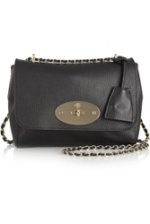 Mulberry Lily Textured Leather Shoulder Bag