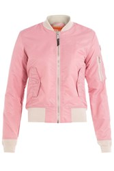 Schott Nyc Flight Jacket Pink