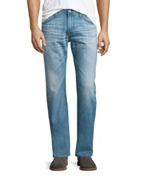 Ag Adriano Goldschmied Graduate 24 Year Whitewashed Denim Jeans 24 Years Whitewas