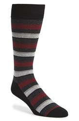 Calibrate Men's 'Mixed Stripe' Socks