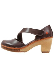 Art Amsterdam Platform Heels Brown Dark Brown