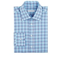 Etro Plaid Dress Shirt Turquoise
