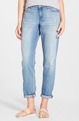 Cj By Cookie Johnson 'Powerful' Distressed Relaxed Boyfriend Jeans Sunshine