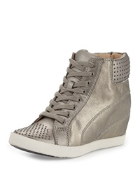 Splendid Helsinki Wedge Sneaker Pewter