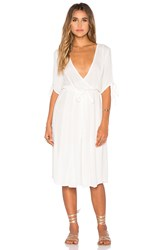 Somedays Lovin Maybelle Wrap Dress White
