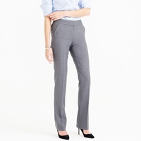 J.Crew Petite Campbell Trouser In Super 120S Wool
