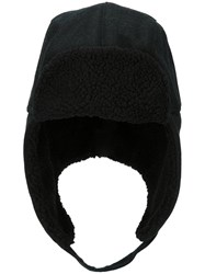 Paul Smith Ps By Faux Shearling Trapper Hat