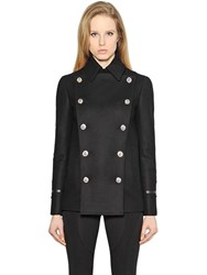 Versus Heavy Wool Cloth Double Breasted Jacket