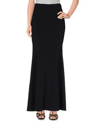 Space Style Concept Skirts Long Skirts Women Black