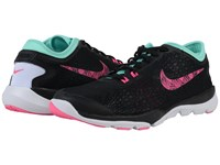 Nike Flex Supreme Tr 4 Bts Black Hyper Turquoise White Pink Blast Women's Cross Training Shoes