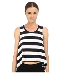 Yohji Yamamoto Multi Strap Tank Top Black White Women's Sleeveless