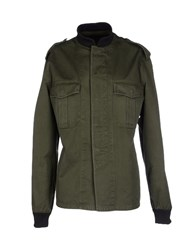 Harvey Faircloth Coats And Jackets Jackets Women Military Green
