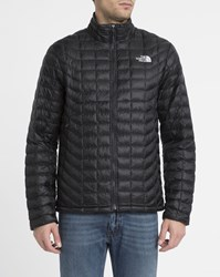 The North Face Black Thermoball Waterproof Synthetic Down Jacket