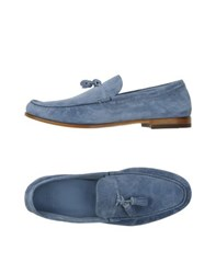 Fabi Footwear Moccasins Men Pastel Blue