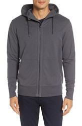 Good Man Brand Men's Microlight French Terry Hoodie Grey