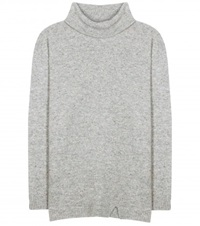81 Hours Cashmere Turtleneck Sweater Grey