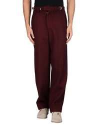 Umit Benan Trousers Casual Trousers Men Maroon
