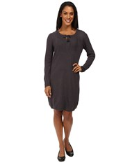 Royal Robbins First Light Sweater Dress Charcoal Women's Dress Gray