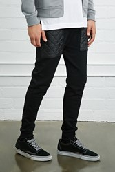 Forever 21 Quilted Pocket Joggers