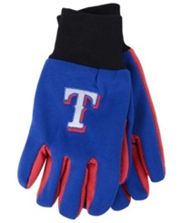 Forever Collectibles Texas Rangers Palm Gloves